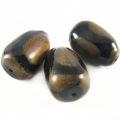 Burnt horn irregular shape wholesale pendants