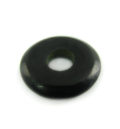 Black horn donut 20mm wholesale pendants