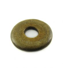 Burnt horn donut 20mm wholesale pendants