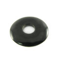 Black horn donut 30mm wholesale pendants