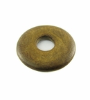 Burnt horn donut 30mm wholesale pendants
