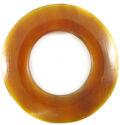 Golden horn donut 60mm wholesale pendants