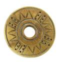 Burnt Horn carved ring-35mm wholesale pendants