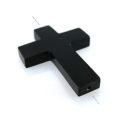 Black horn cross wholesale pendants