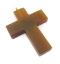 Golden horn cross w/ ring wholesale pendants