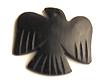 Black horn eagle design wholesale pendants