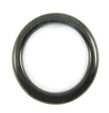 "Black horn ""O"" ring 34mm dia x4mm thick wholesale ring"