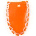 Green shell tangerine top cut wholesale pendant