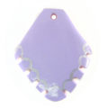 Green shell arrowhead purple wholesale pendants