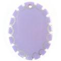 Green shell oval purple wholesale pendants