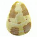 Teardrop MOP moon wholesale pendant