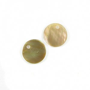 Brownlip 10mm round wholesale pendant