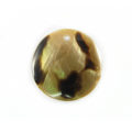 Brownlip round 25mm moon design wholesale pendant