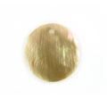 Brownlip round 25mm plain wholesale pendant