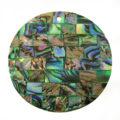 Paua green blocking 40mm wholesale pendant