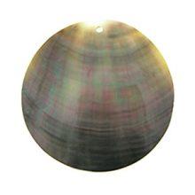 Blacklip 46mm round wholesale pendant