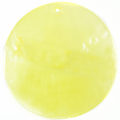 Capiz shell light yellow 46mm wholesale pendant