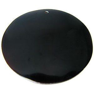 Tab shell 46mm round wholesale pendant