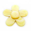 MOP, small flower MOP dot 25mm wholesale pendant