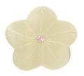 Hammershell flower w/purple crystal