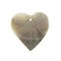 Blacklip fat leaf pendant wholesale