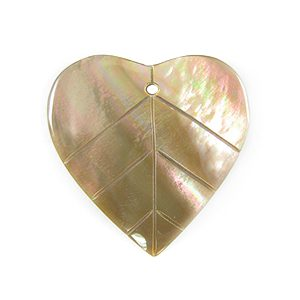Brownlip flat leaf wholesale pendant