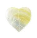 MOP fat leaf wholesale pendant