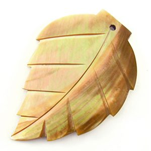 Brownlip large leaf wholesale pendant