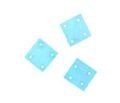 square hammershell 10x10 light blue wholesale