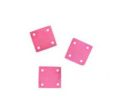 square hammershell 10x10 light red wholesale