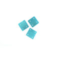 Hammershell square turquoise wholesale pendant