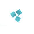 Hammershell square turquoise wholesale pendant