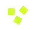 Hammershell square yellow green wholesale pendant
