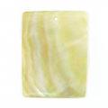 MOP plain rectangular wholesale pendant