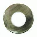 Blacklip 30mm donut wholesale pendant