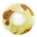 MOP donut moon 35mm wholesale pendant