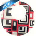 river shell geometric decal pendant 46mm wholesale