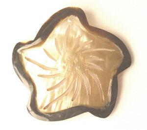 Brownlip starfish w/ skin wholesale pendant