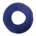 Capiz Shell Irregular Donut 50mm Electric Blue