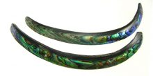 Paua Shell Curve Stick Beads wholesale