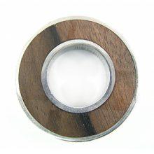 Black Ebony Donut Frame wholesale pendant