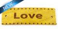 """Message bracelet """"love"""" component nangka"""