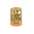 wooden charm natural-joy 43mmx25mm
