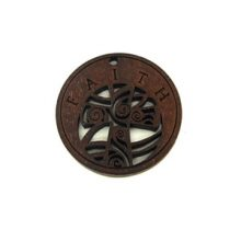 round charm stained-faith 35mm