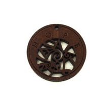 round charm stained-hope 35mm