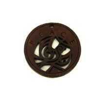 round charm stained-peace 35mm