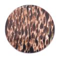 Round Shape With Stripe wholesale pendant