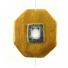 Nangka octagon design 35mm / A-Silver metal