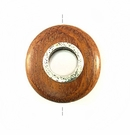 Bayong round 30mm / A-silver metal