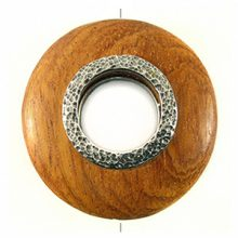 Bayong round 50mm / A-silver metal